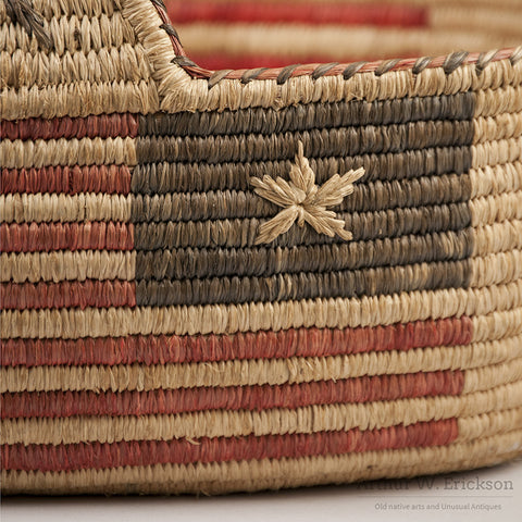 Quinault Patriotic 4th of July Basket - Arthur W. Erickson - 8
