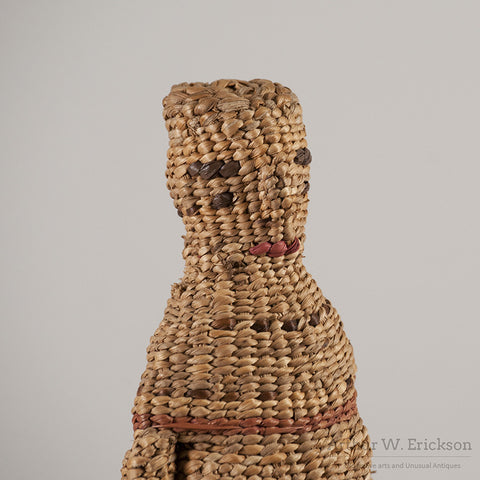 Chehalis Woven Basketry Doll - Arthur W. Erickson - 10