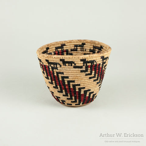Small Richard Cultee Skokomish Basket