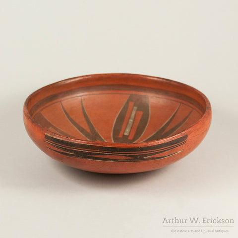 Old Hopi Redware Bowl