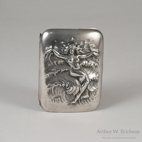 Unger Brothers Sterling Silver Cigarette Case - Arthur W. Erickson - 3