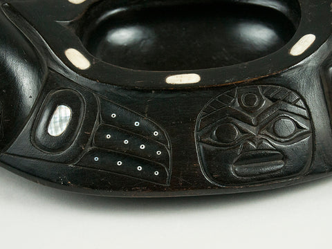 Tlingit Carved Bowl by Walton & Bean