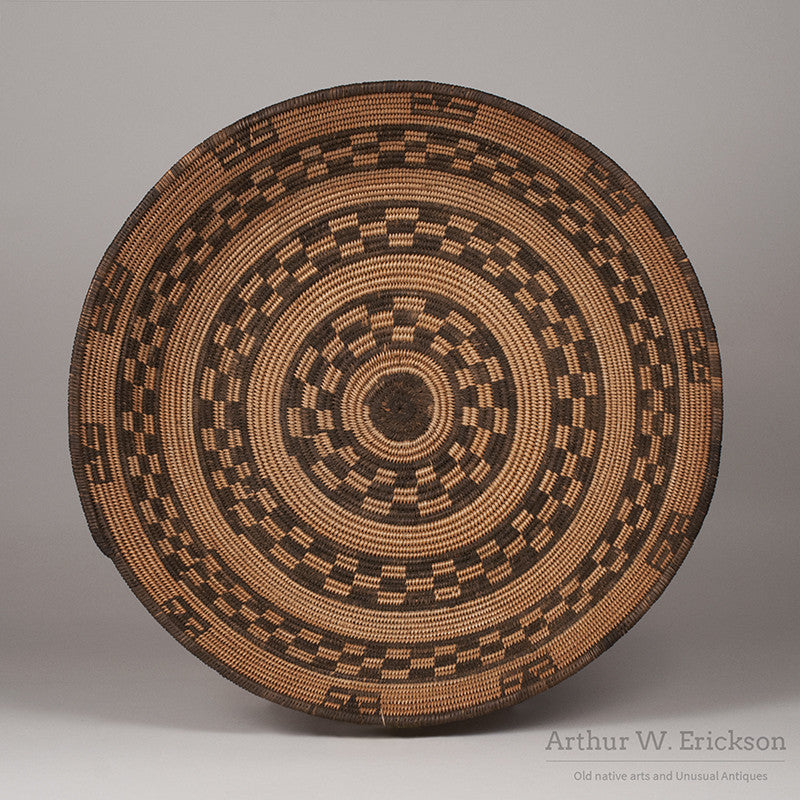 Apache Basketry Tray - Arthur W. Erickson - 1