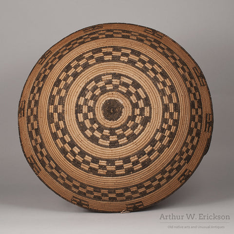 Apache Basketry Tray - Arthur W. Erickson - 2