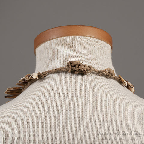 NewGuinea Dog Tooth Necklace - Arthur W. Erickson - 2