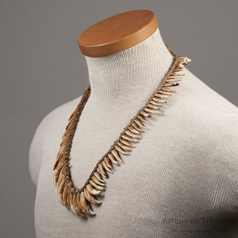 NewGuinea Dog Tooth Necklace - Arthur W. Erickson - 3