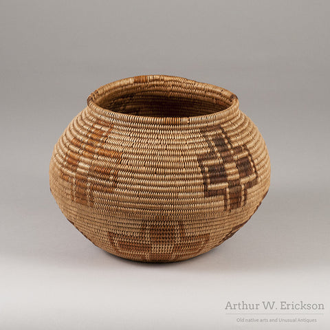 SOUTHERN NEVADA PAIUTE COILED BASKET