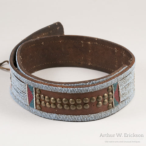 Nez Perce Panel Belt - Arthur W. Erickson - 2