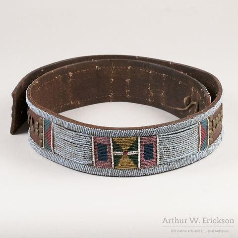 Nez Perce Panel Belt - Arthur W. Erickson - 1