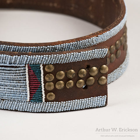 Nez Perce Panel Belt - Arthur W. Erickson - 3