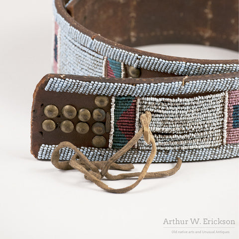 Nez Perce Panel Belt - Arthur W. Erickson - 4
