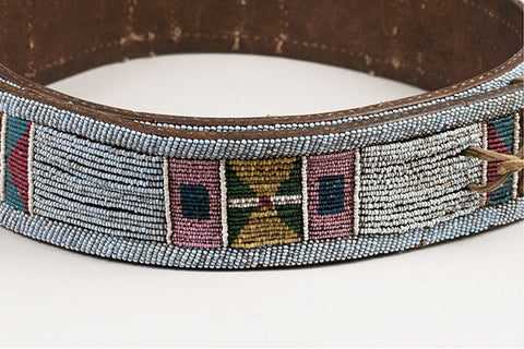 Nez Perce Panel Belt - Arthur W. Erickson - 7