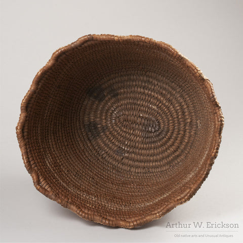 Puget Sound Fully Imbricated Basket - Arthur W. Erickson - 5