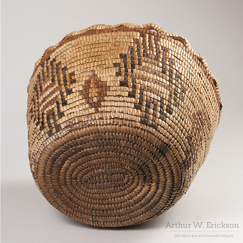 Puget Sound Fully Imbricated Basket - Arthur W. Erickson - 6