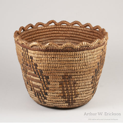 Puget Sound Fully Imbricated Basket - Arthur W. Erickson - 2