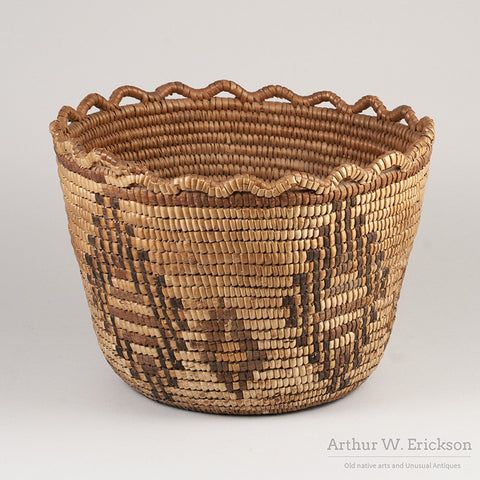 Puget Sound Fully Imbricated Basket - Arthur W. Erickson - 3