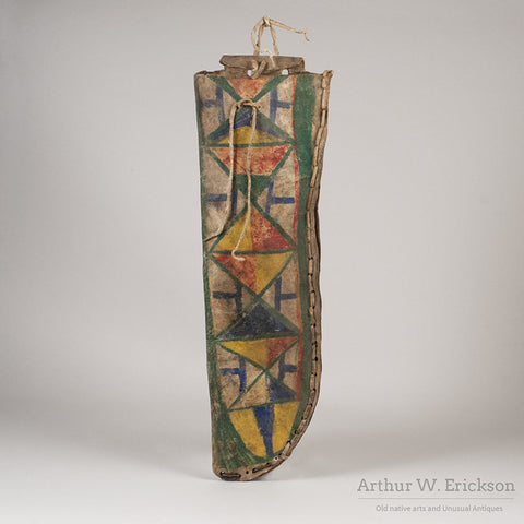 Nez Perce Parfleche Knife Sheath