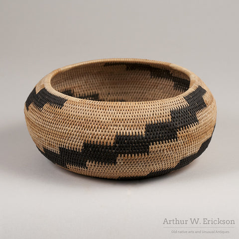 Pomo Single Rod Basket - Arthur W. Erickson - 3