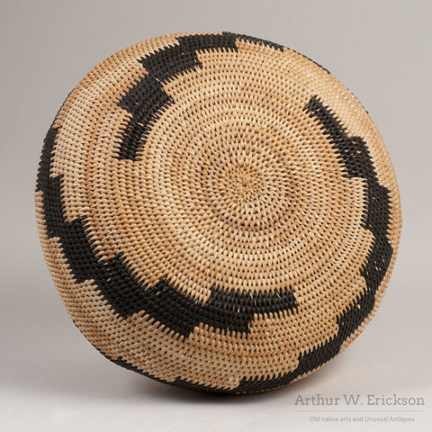Pomo Single Rod Basket - Arthur W. Erickson - 7