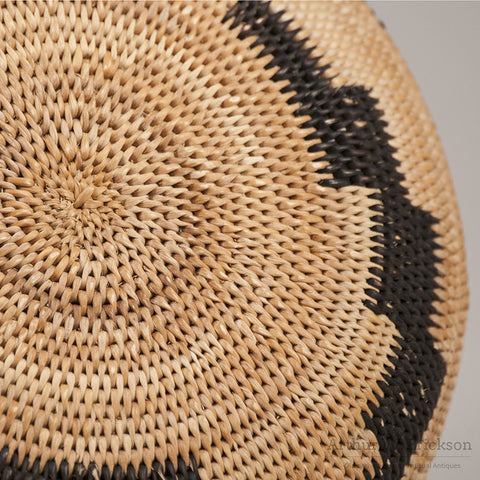 Pomo Single Rod Basket - Arthur W. Erickson - 8