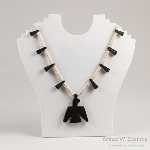 Santo Domingo Thunderbird Necklace - Arthur W. Erickson - 2