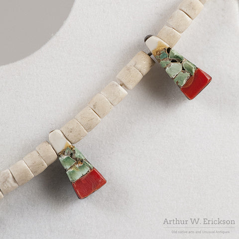 Santo Domingo Thunderbird Necklace - Arthur W. Erickson - 5