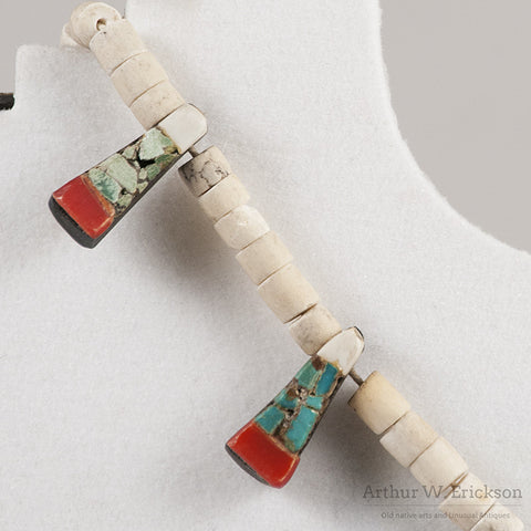 Santo Domingo Thunderbird Necklace - Arthur W. Erickson - 6