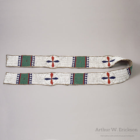 Sioux Beaded Blanket Strip - Arthur W. Erickson - 2