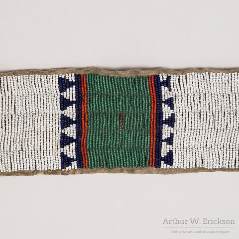 Sioux Beaded Blanket Strip - Arthur W. Erickson - 7
