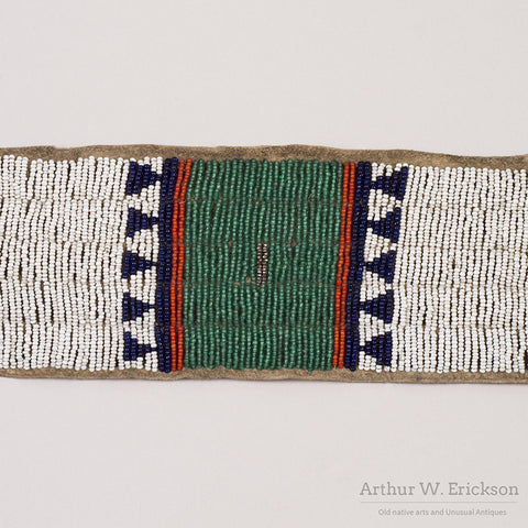 Sioux Beaded Blanket Strip - Arthur W. Erickson - 9