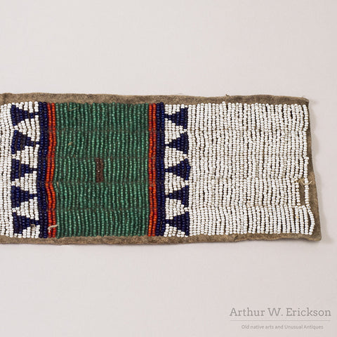 Sioux Beaded Blanket Strip - Arthur W. Erickson - 11