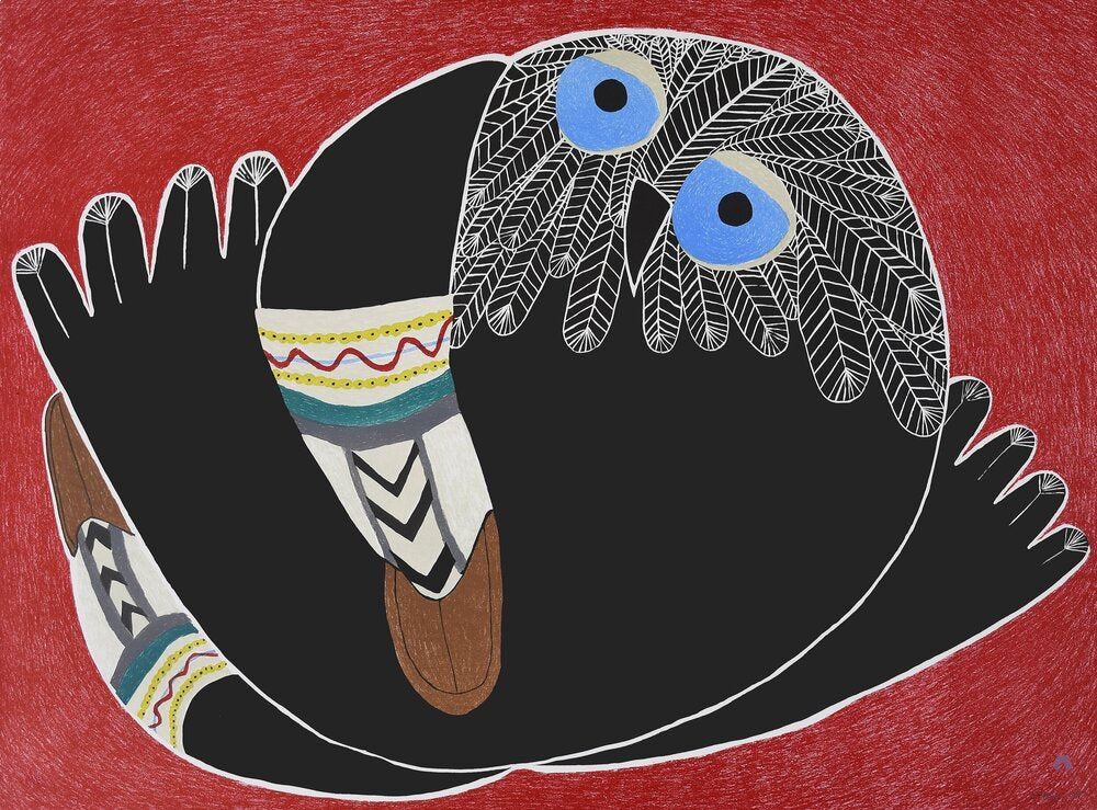 Print from the Cape Dorset 2020 collection