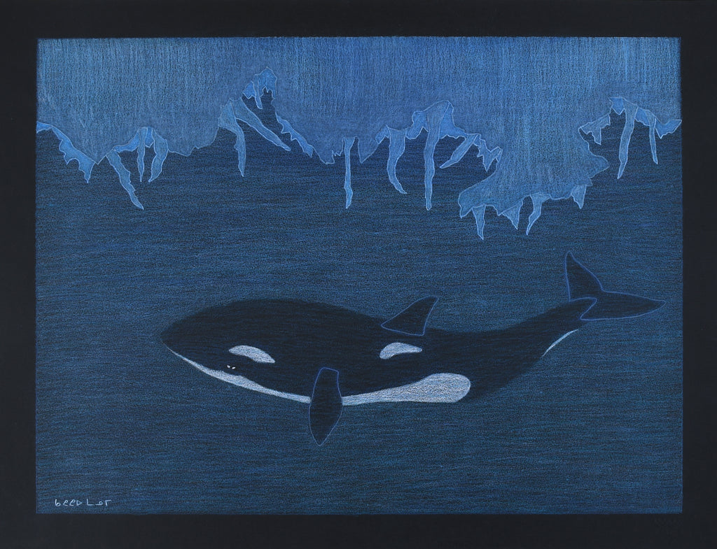 Untitled, Whale and Ice