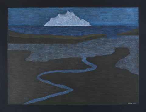 Untitled, Landscape with Iceberg