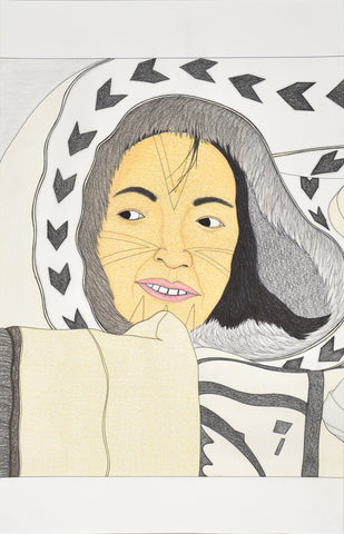 Untitled, Inuit woman