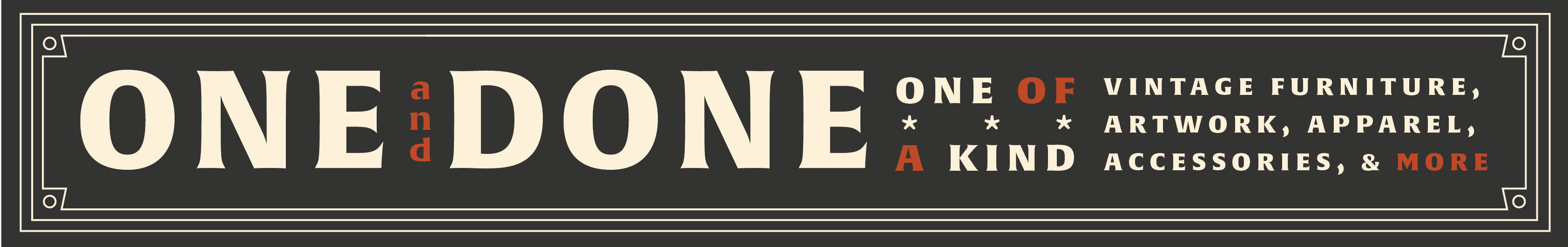 One & Done - Apparel
