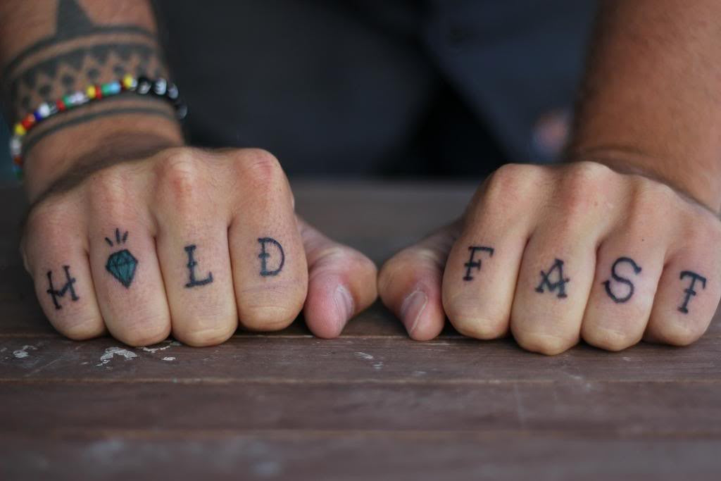 The Double Fisted History Of Knuckle Tattoos