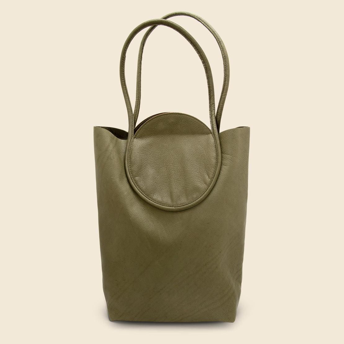 8.6.4 Design Circle Snap Tote - Olive