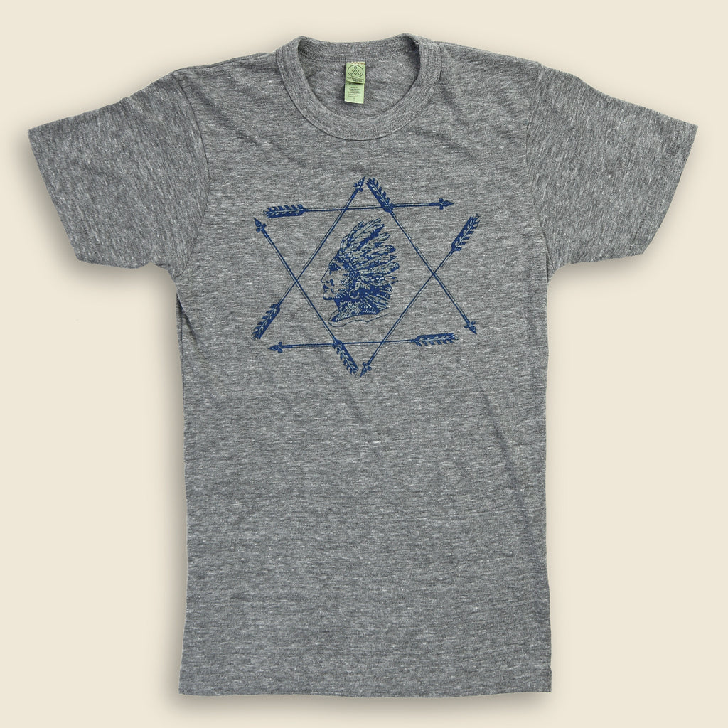 Grpahic tee indian arrows stag provisions for Alchemy design t shirts