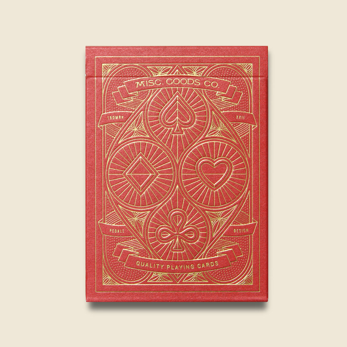 Playing Cards - Red