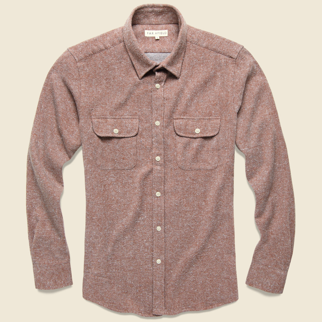 Afield Workwear Flannel - Brick