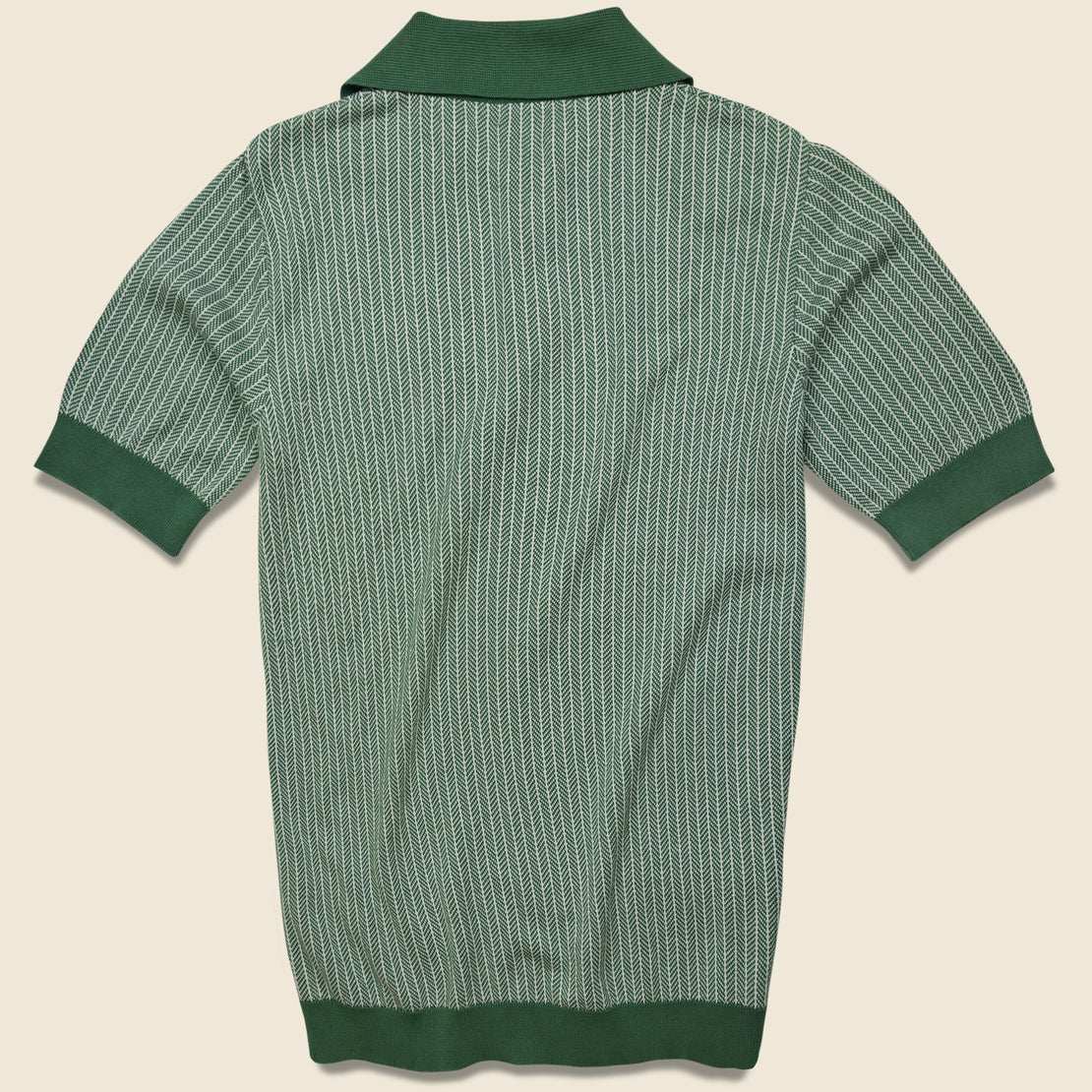 Blakey Knit Polo - Green
