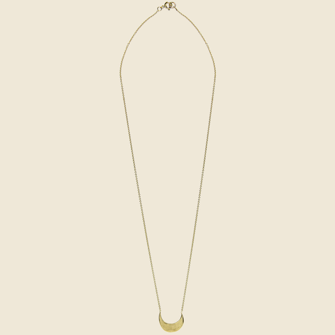 Muse Crescent Necklace - Bronze