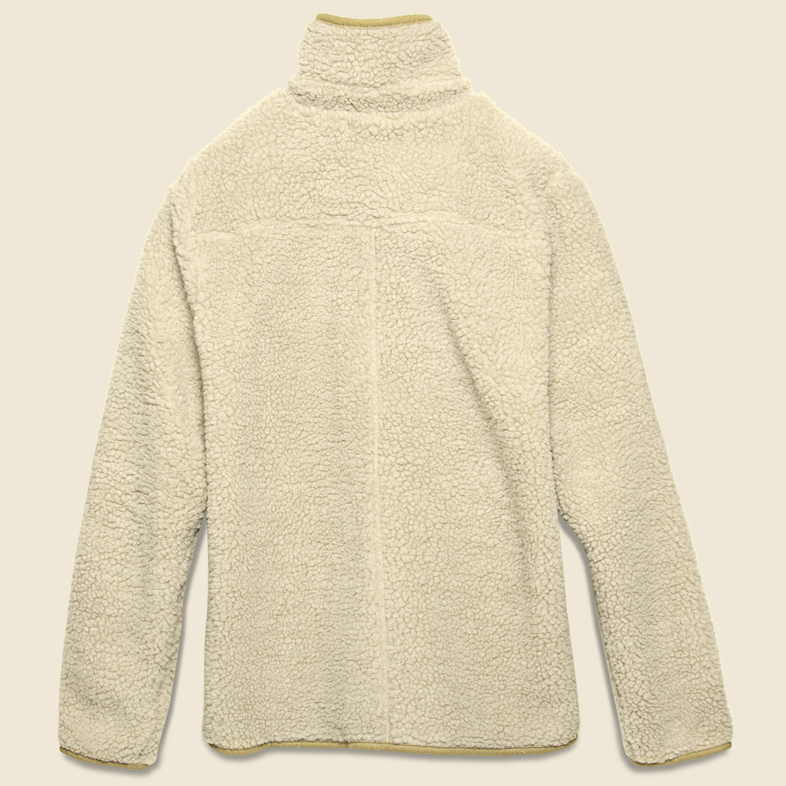Sherpa Fleece Jacket - Natural