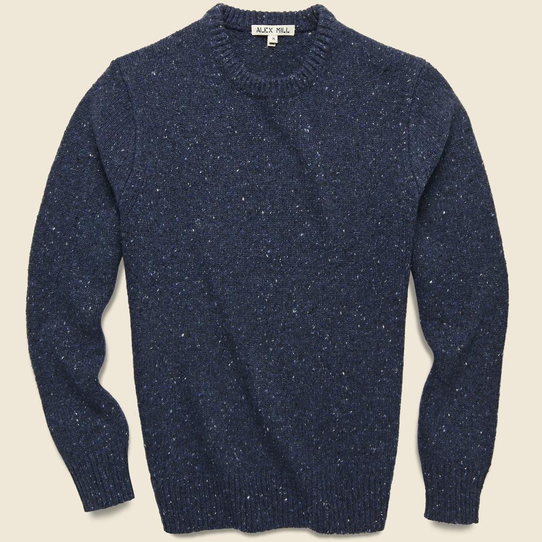 Alex Mill Donegal Wool Sweater - Navy
