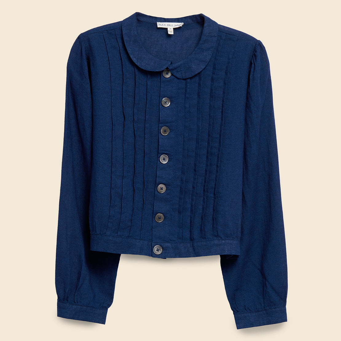 Alex Mill Ruth Blouse - Indigo