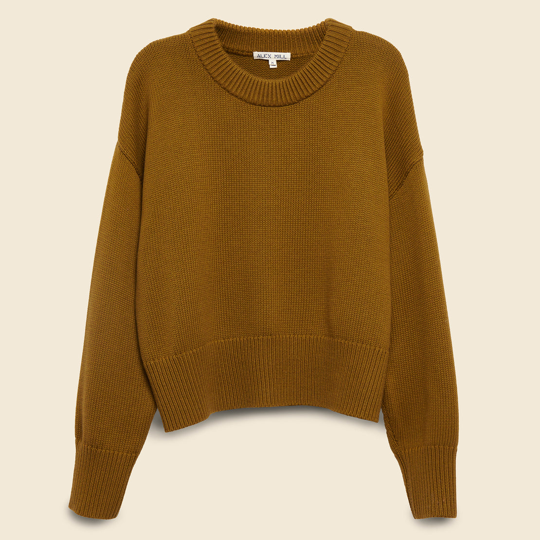 Alex Mill Cozy Crewneck Sweater - Mustard