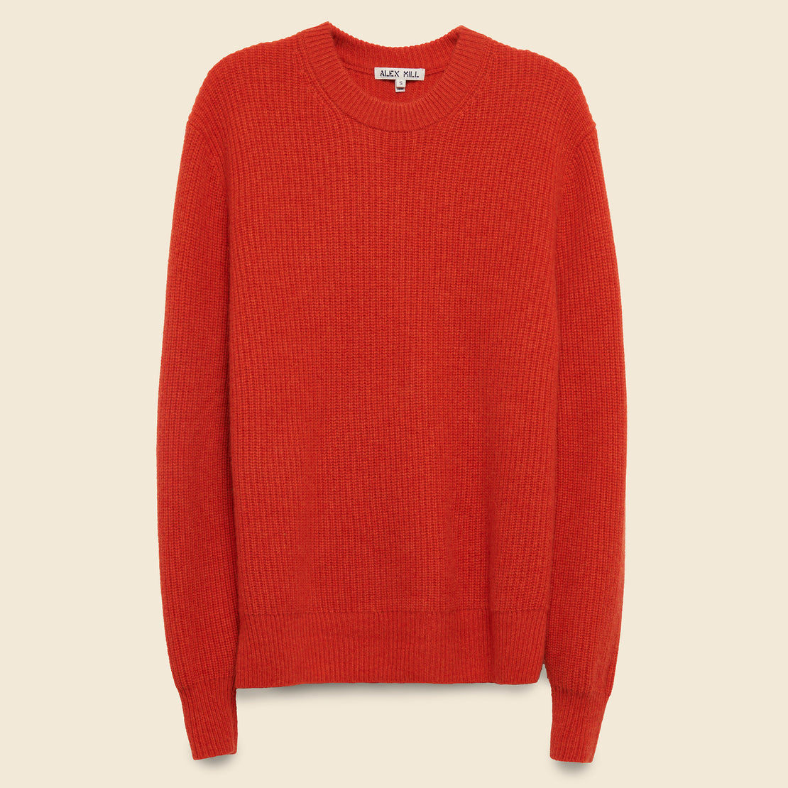 Alex Mill Cashmere Jordan Sweater - Paprika