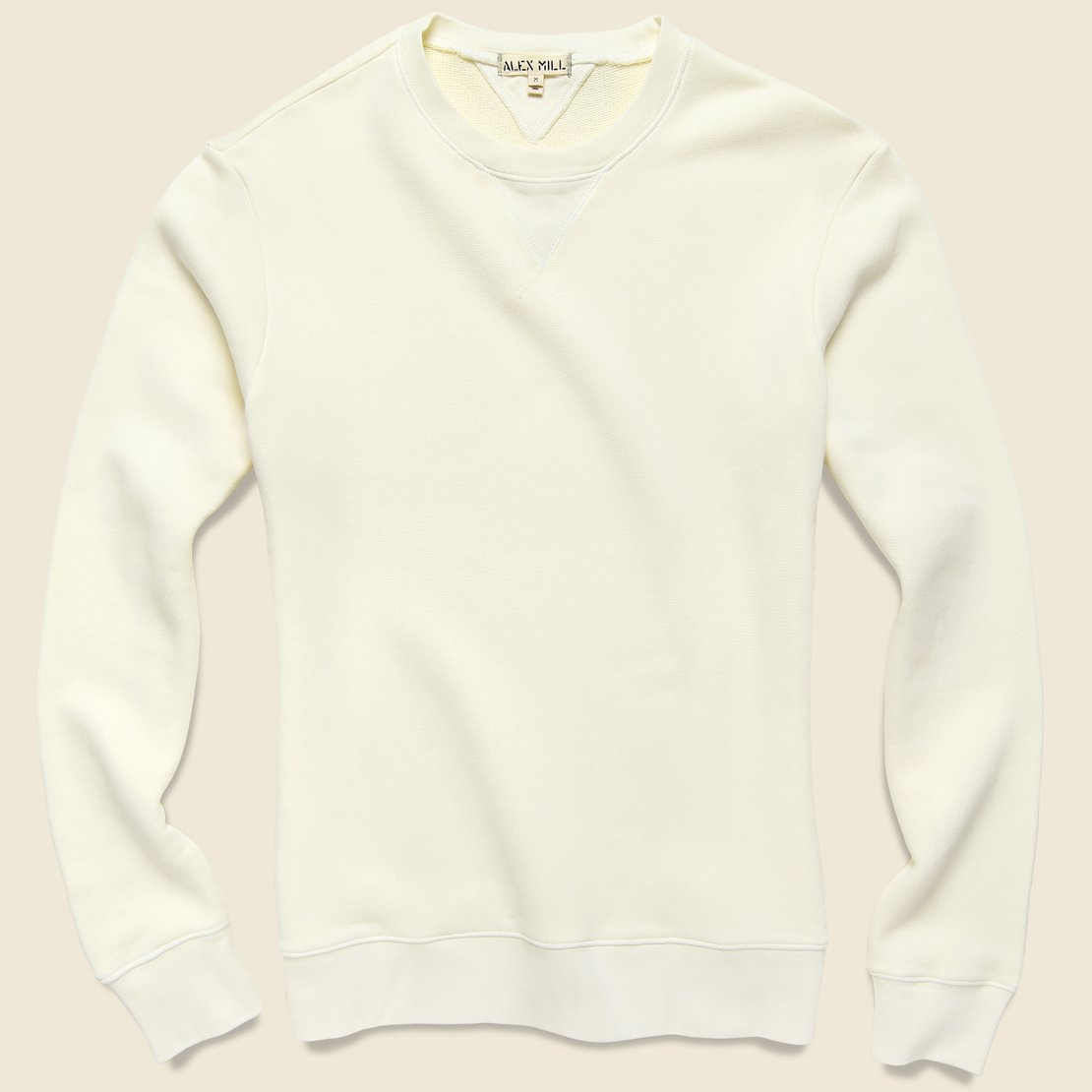 Alex Mill French Terry Sweatshirt - Natural