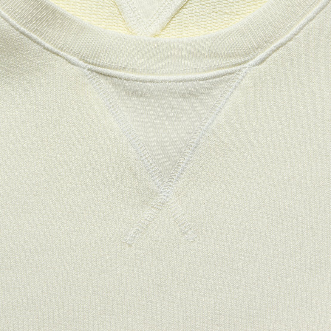 French Terry Sweatshirt - Natural